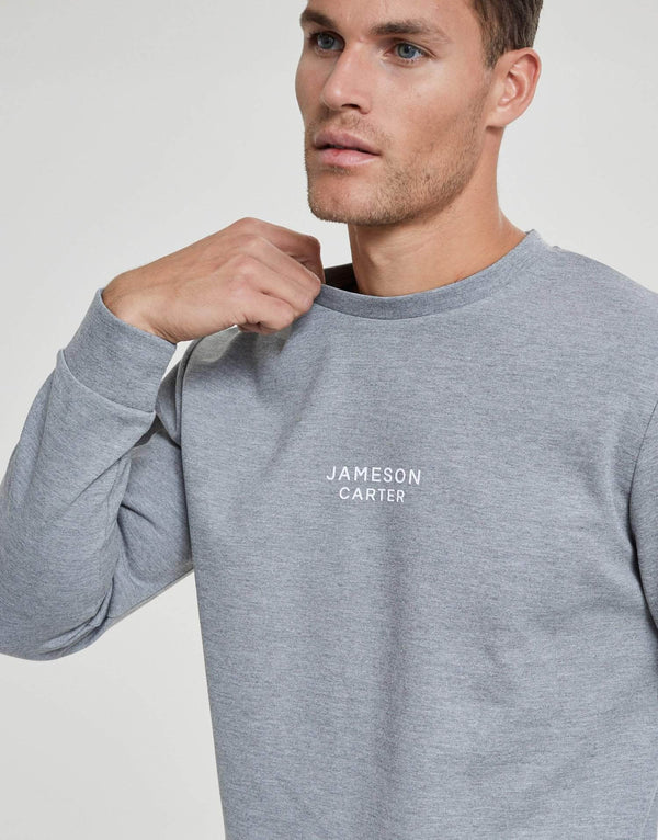 Jameson Carter Hoodies Alexander Crew Sweat - Charcoal