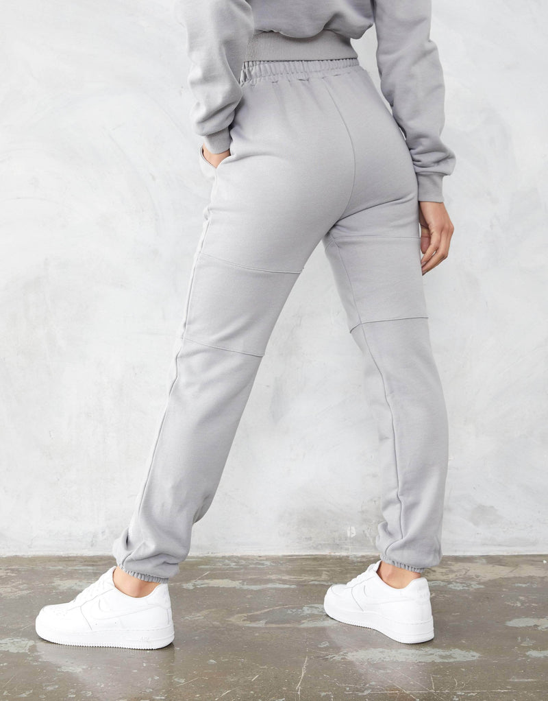 Jameson Carter Womens Tracksuit Pant Alissa Joggers - Silver Grey