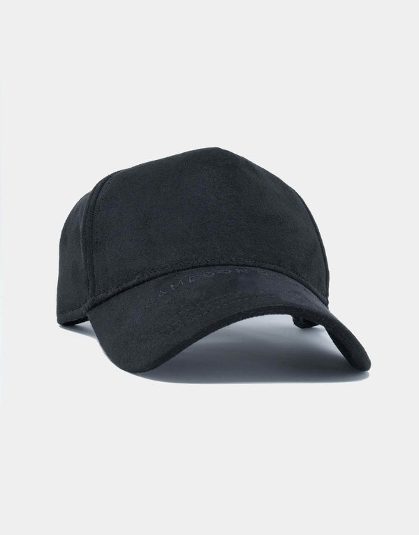 Jameson Carter Hats Arlo Suede Trucker Cap - Black
