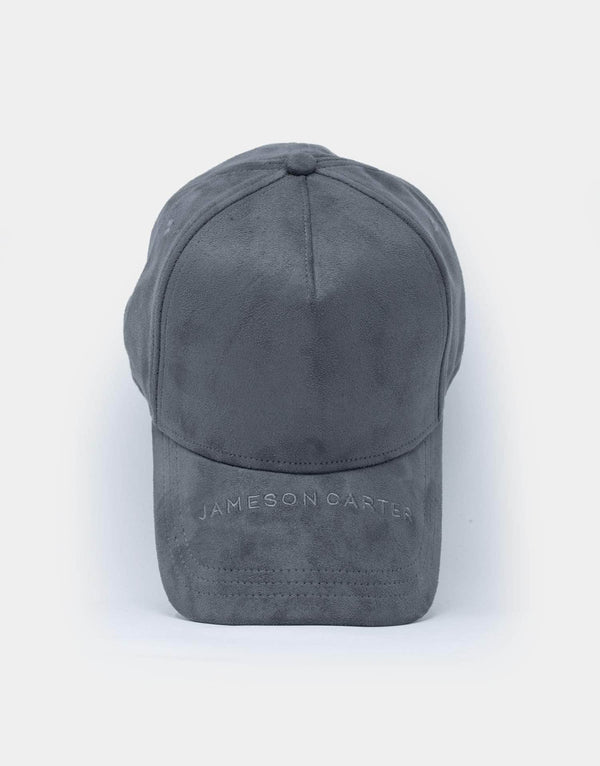 Jameson Carter Hats Arlo Suede Trucker Cap - Carbon