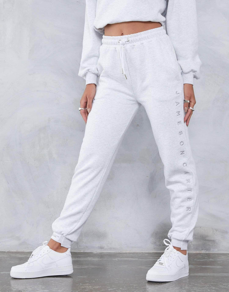 Jameson Carter Womens Tracksuit Pant Ava 90's Joggers - Grey