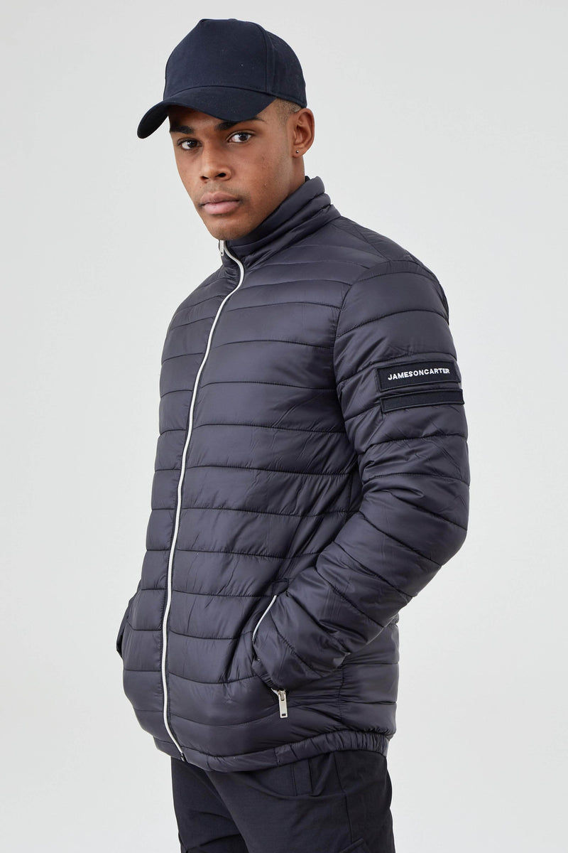 Jameson Carter Coats Barton Puffer Jacket - Black