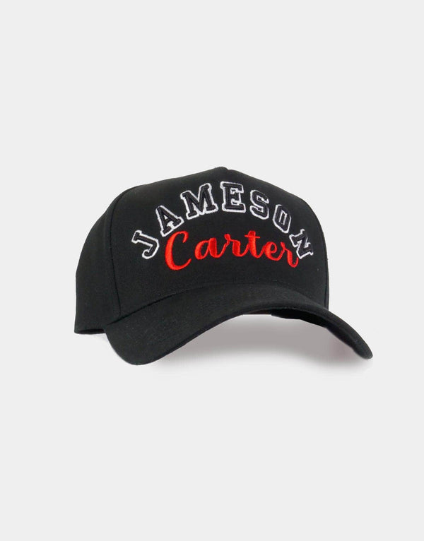 Jameson Carter Barts Trucker Cap - Black & Red