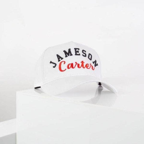 Jameson Carter Hats, not-sale Barts Trucker Cap - White & Red