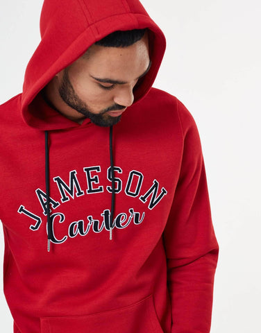 Jameson Carter Hoodies, not-sale Barts Varsity Hoodie - Red