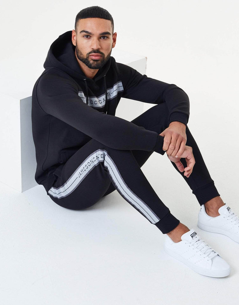 Bathurst Tracksuit Pants - Black