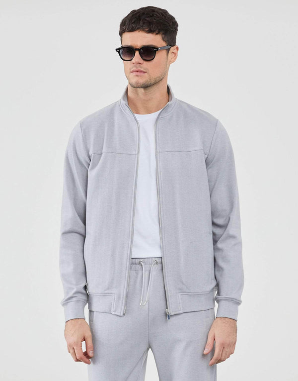 Jameson Carter Tracksuit Jackets Bennington Jacket - Grey