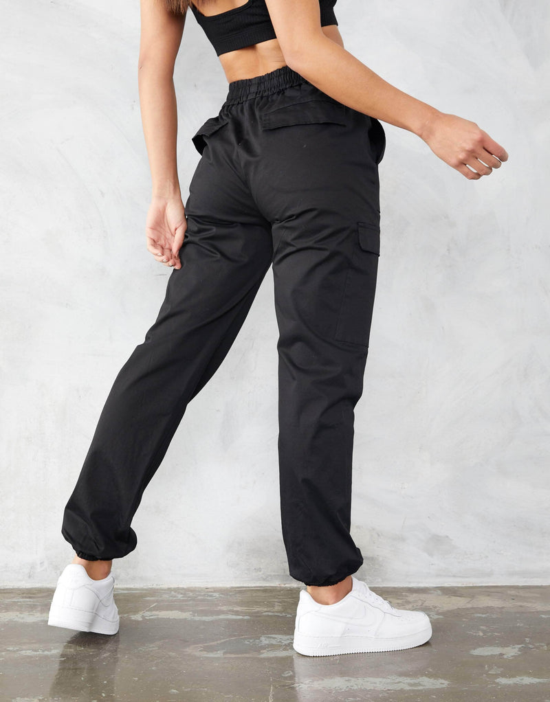 Jameson Carter Womens Cargo Pant Blake Cargo Pants - Black