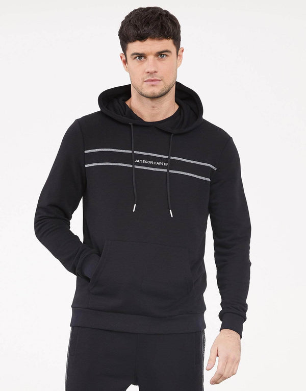 Jameson Carter Hoodies Cavendish Hoodie - Black