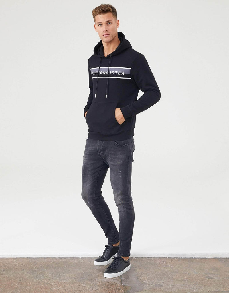 Jameson Carter Hoodies Chester Hoodie - Black