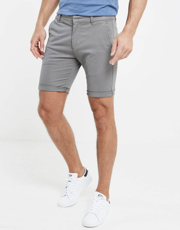 Chino Shorts - Carbon