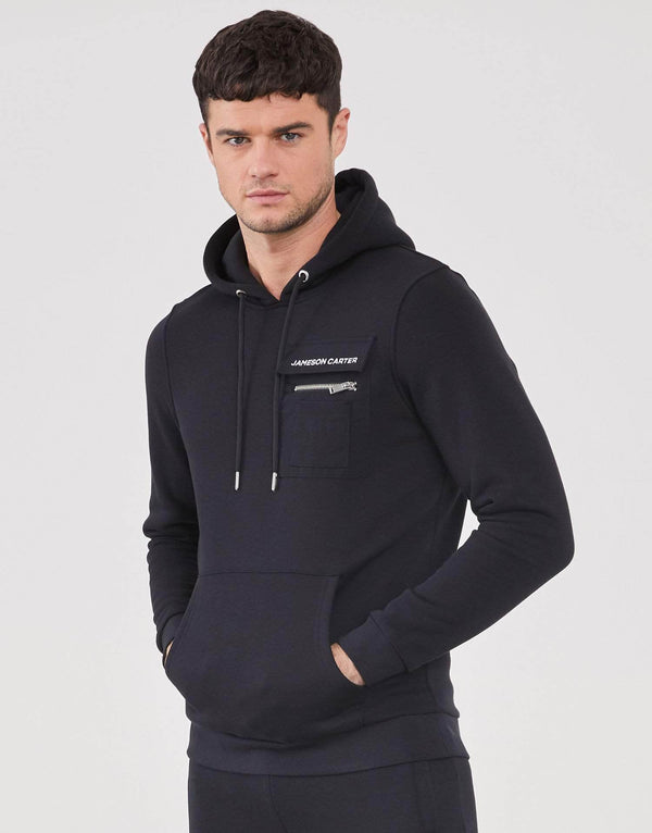 Jameson Carter Hoodies Consort Hoodie - Black