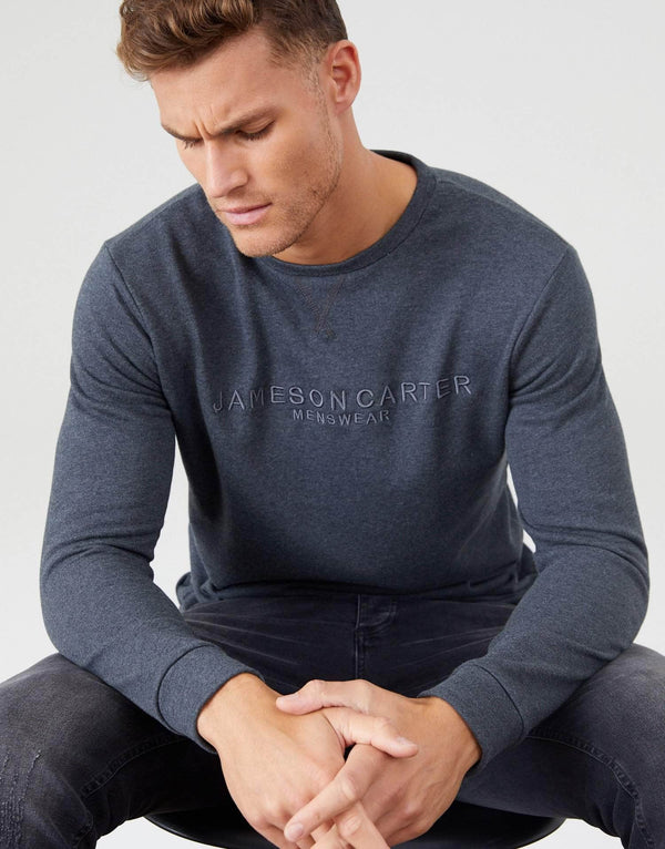 Jameson Carter Jumper Cooper Jumper - Charcoal