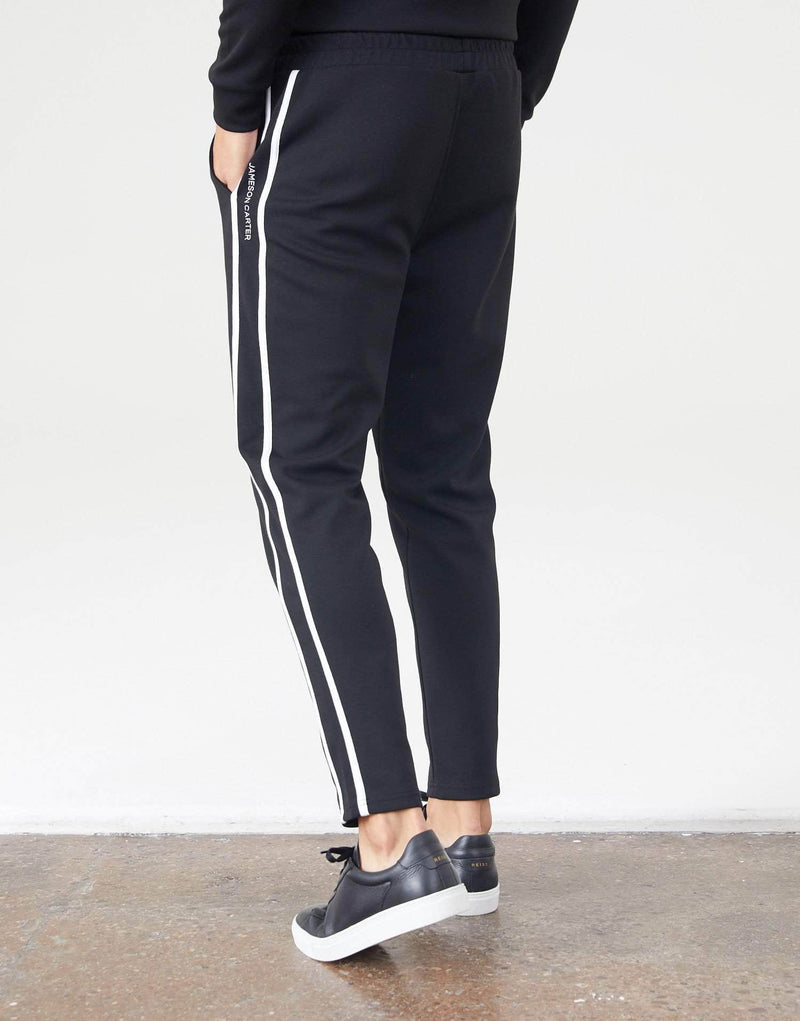 Jameson Carter Tracksuit Pants Delaney Joggers - Black