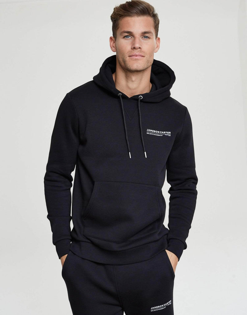 Jameson Carter Men Elio Hoodie - Black