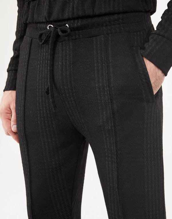 Jameson Carter Tracksuit Pants Essence Blackout Check Pants