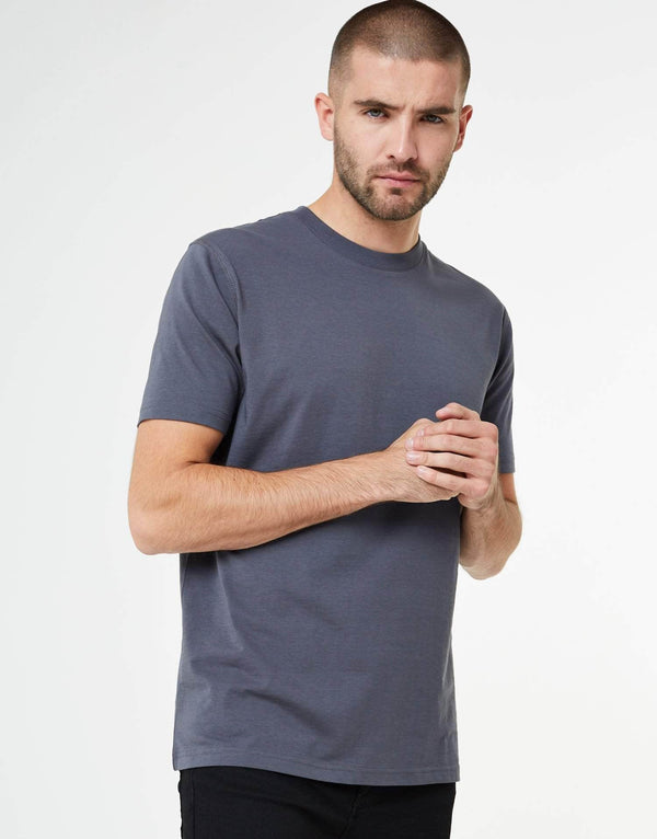 Jameson Carter Men Essence T Shirt - Carbon Grey