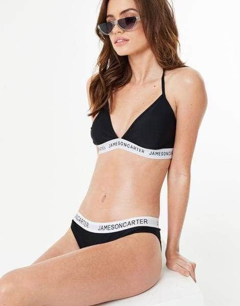 Essential Jameson Carter Bikini Top - Black