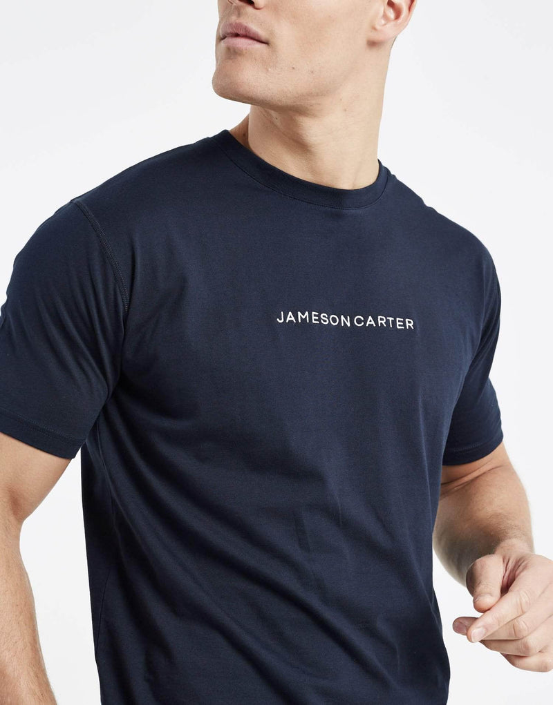 Jameson Carter Men Exchange T Shirt - Navy