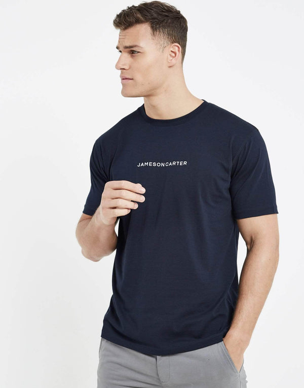 Exchange T Shirt - Navy