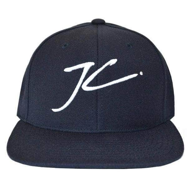 Jameson Carter Hats Flatpeak Cap - Navy
