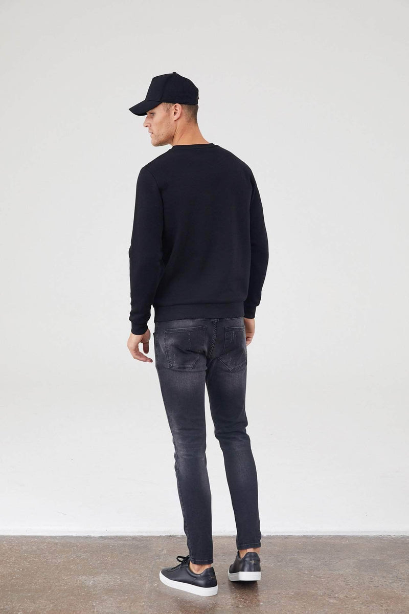 Hallows Jumper - Black