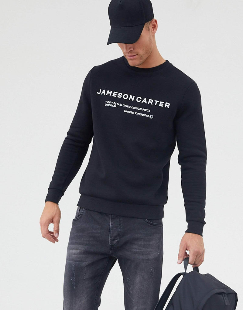 Jameson Carter Men Hallows Jumper - Black