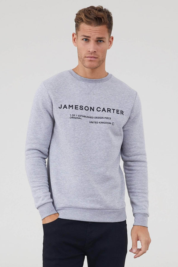 Hallows Jumper - Grey Marl