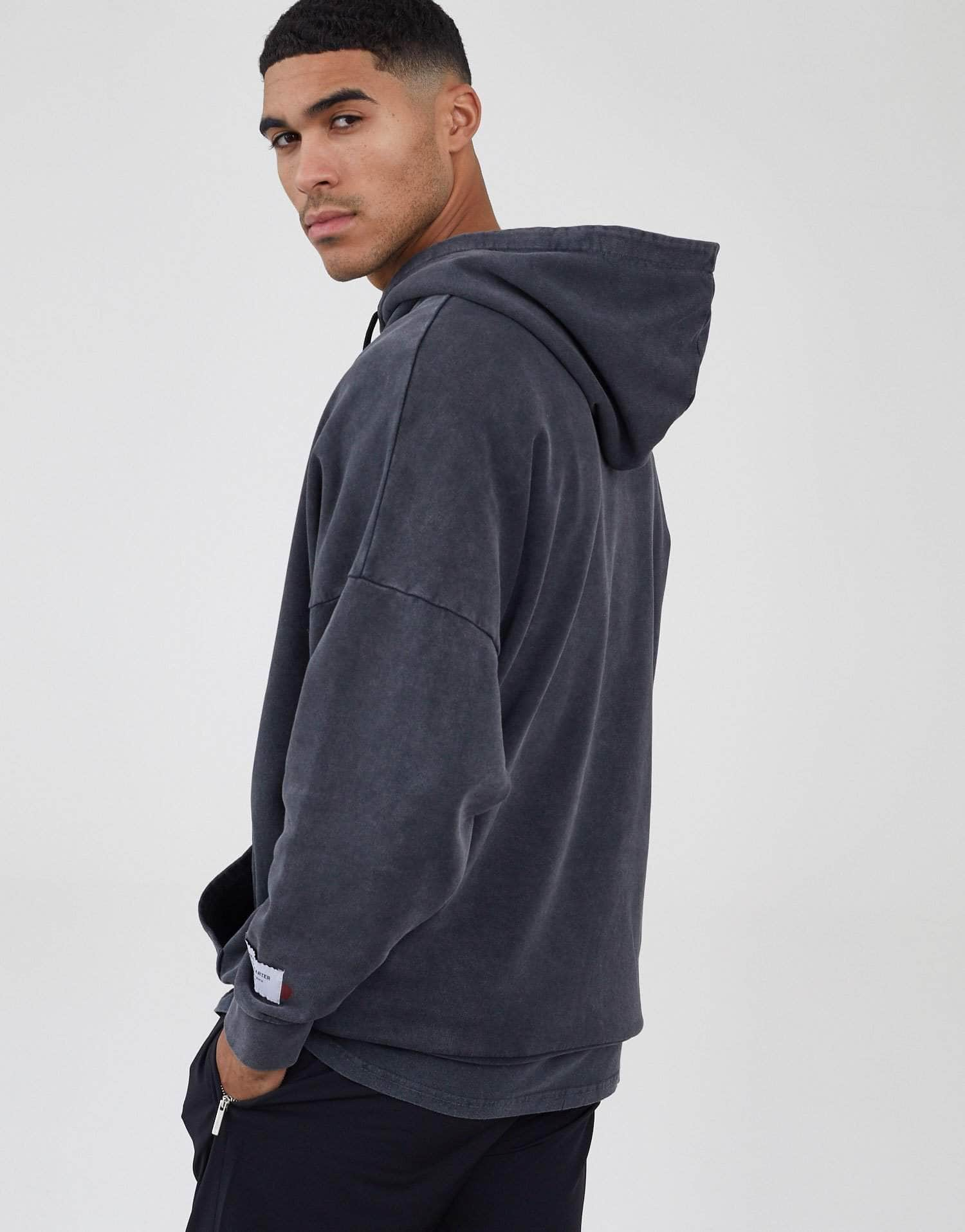 Jameson Carter Hoodies, not-sale Harris Oversized Hoodie - Acid Wash