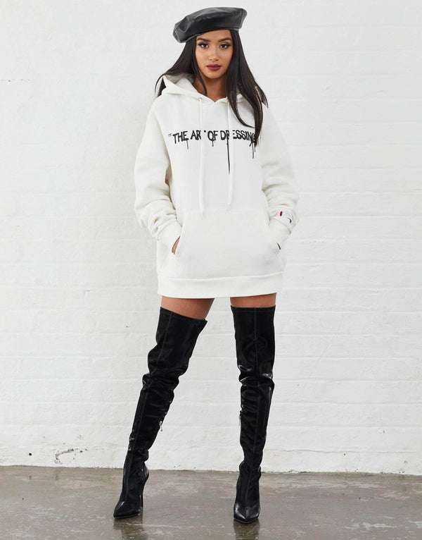 Harris Oversized Hoodie - Off White