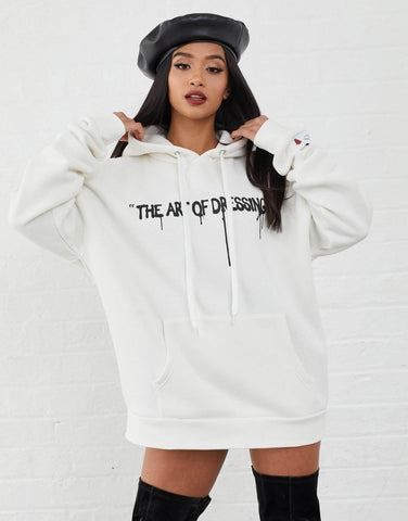 Jameson Carter Hoodies, not-sale Harris Oversized Hoodie - Off White