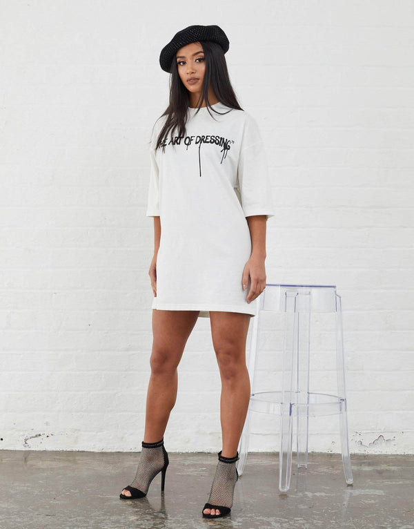 Harris Oversized T-Shirt - Off White