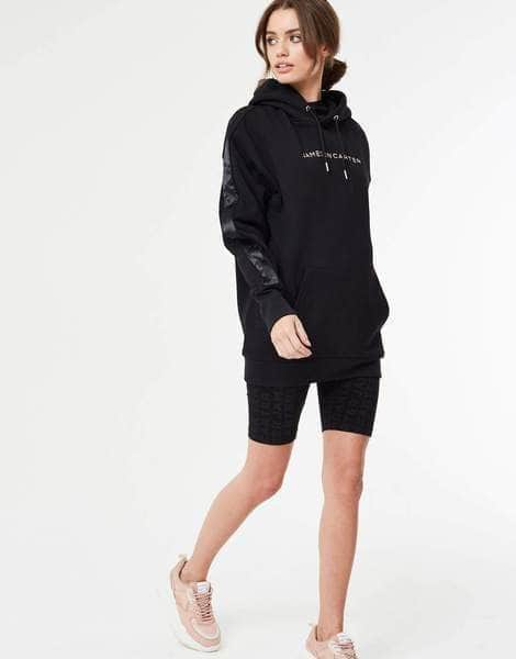 Holla Oversized Hood - Black