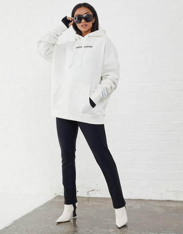 Jameson Carter Hoodies, not-sale Inkerman Oversized Hoodie - White