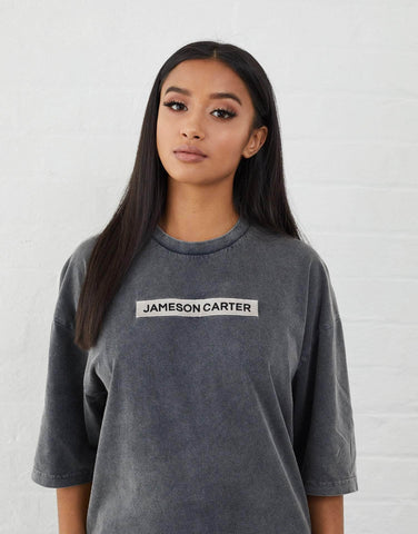 Jameson Carter T-Shirts, sale Inkerman Oversized T Shirt - Acid Wash
