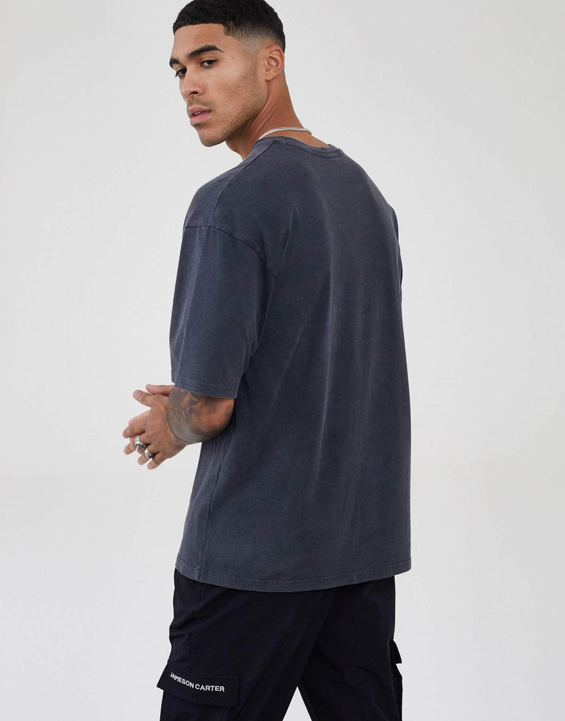 Inkerman Oversized T Shirt - Acid Wash