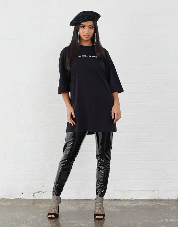 Inkerman Oversized T Shirt - Black