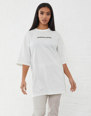 Jameson Carter T-Shirts, sale Inkerman Oversized T Shirt - Off White