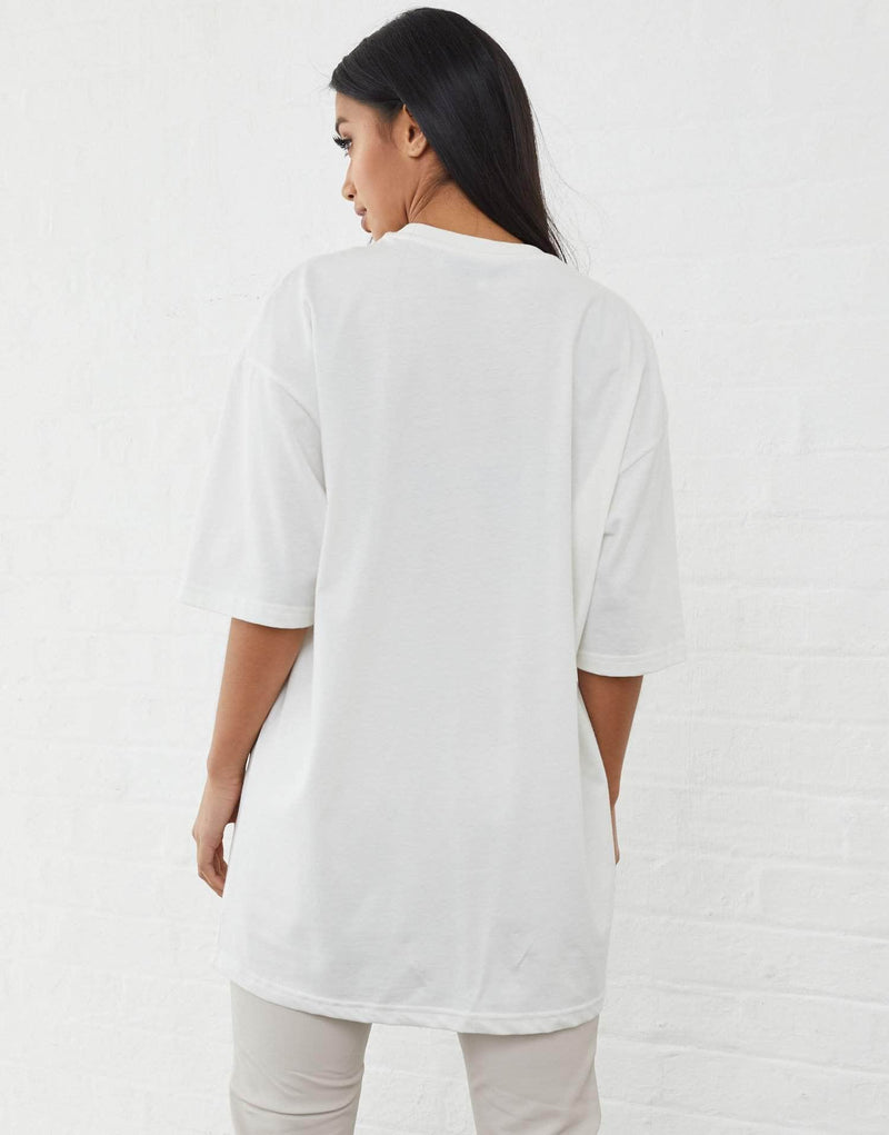 Inkerman Oversized T Shirt - Off White