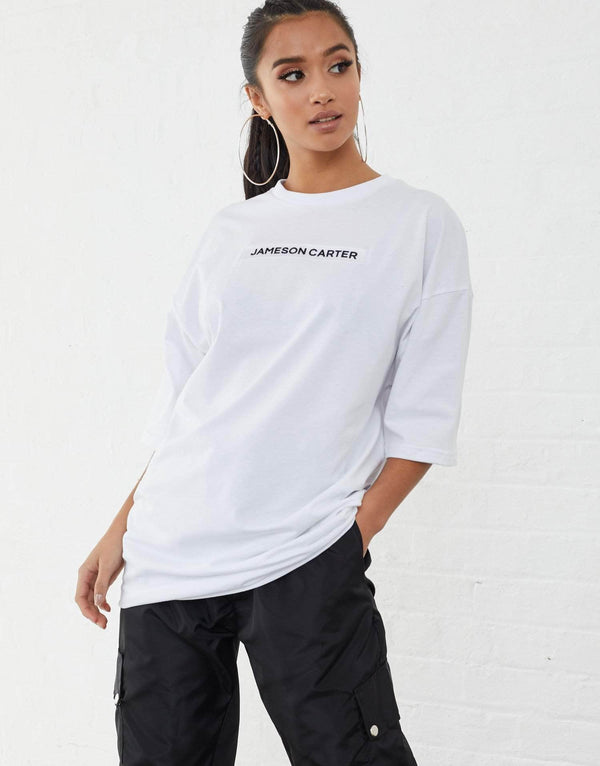 Inkerman Oversized T Shirt - White