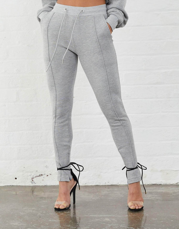 Jameson Carter Women Irwell Joggers - Grey Marl