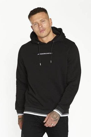 Jameson Carter Hoodies, sale Jameson Carter Ringer Hoodie - Black