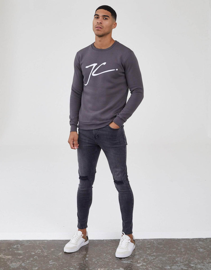 Large JC Jumper - Carbon