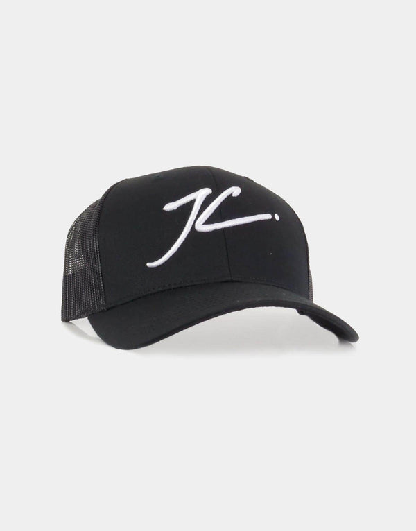 Mesh Trucker Cap - Black
