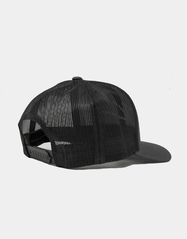 Jameson Carter Hats Mesh Trucker Cap - Black