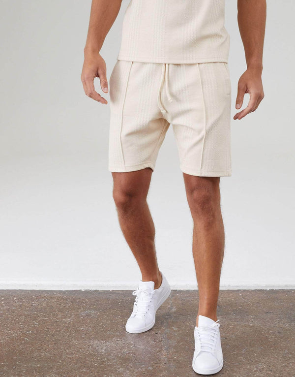 Newbridge Twin Set Shorts - Pastel Sand