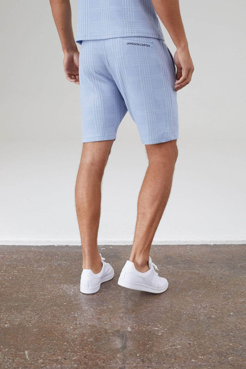 Newbridge Twin Set Shorts - Sky Blue