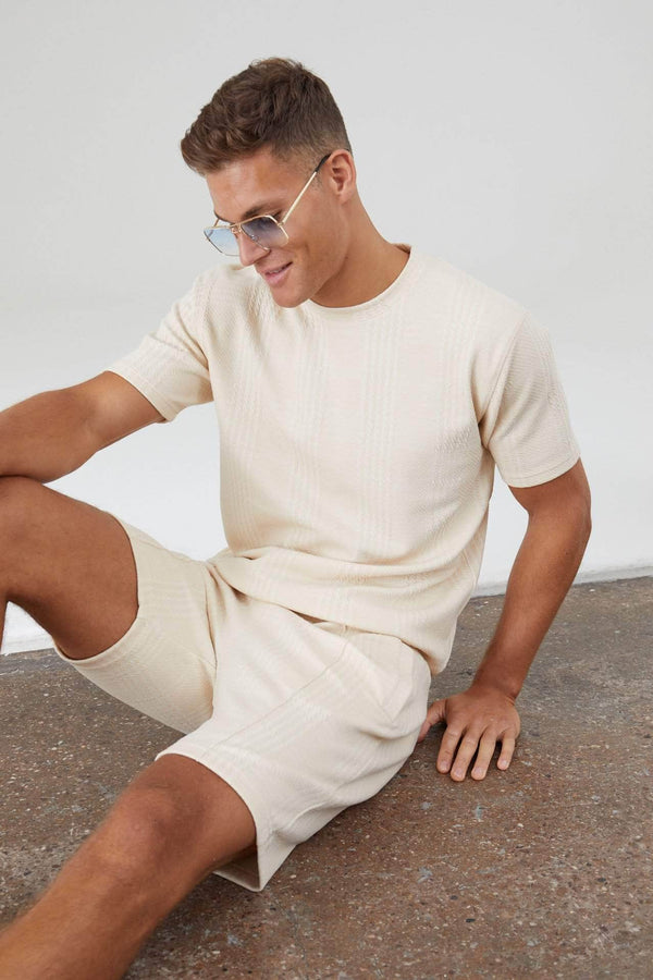 Newbridge Twin Set T-Shirt - Pastel Sand