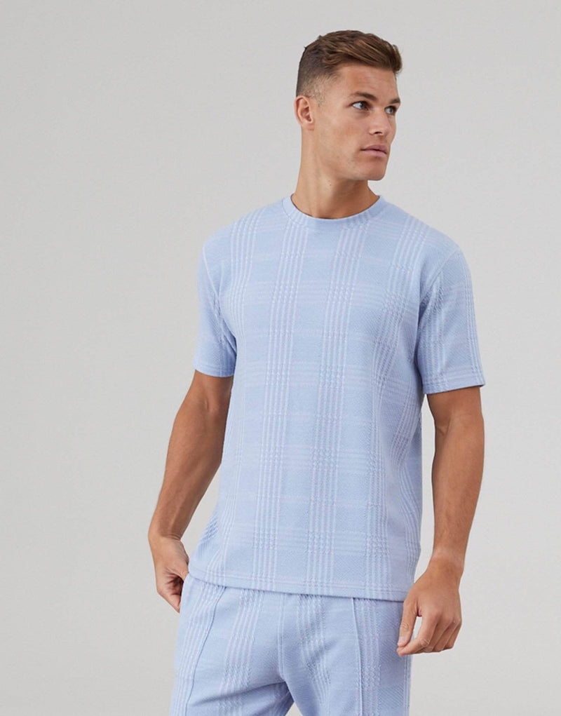 Newbridge Twin Set T-Shirt - Sky Blue
