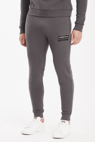 Paint Stripe Jogger Pants - Carbon